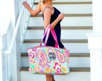 Summer Ultimate Paisley Tote