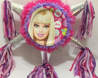 Barbie Pinata Star Shape