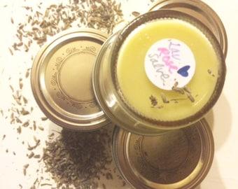 lavender & rose balm / all purpose salve / healing ointment / ultra moisturizing.