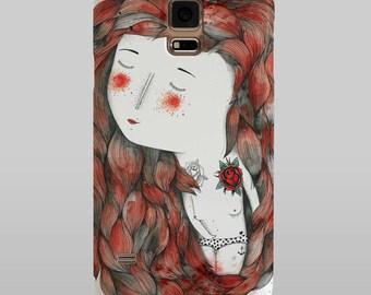 Samsung Galaxy Case  Hot (IlustradoraWäwä) Samsung Galaxy S6, S5, S4, S3, S2