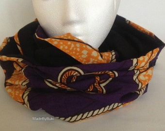 African print snood/scarf