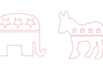 Political Party Decal