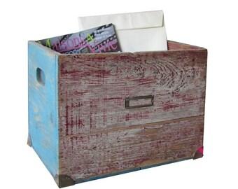 Wooden storage case