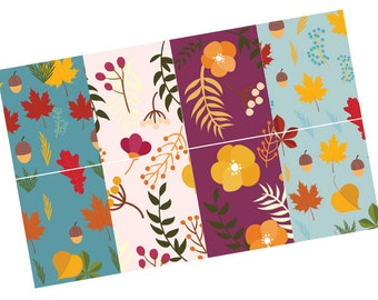 Autumn Flower stickers