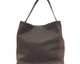 Leather handbag handmade in Italy