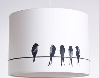 Swallows lampshade making kit