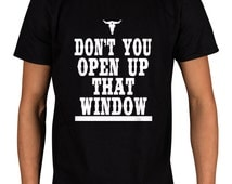 Travis Scott Don't You Open Up That Window Slogan T-Shirt