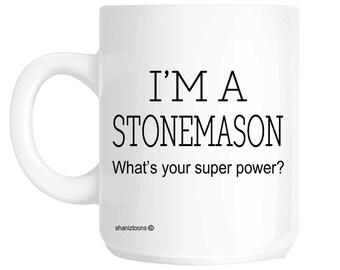 Stonemason Funny Gift Mug shan295