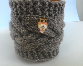 Coffee Mug Cozy, Knit Coffee Cozy, Tea Cozy, Coffee Cup Cozy, Cup Sleeve, Coffee Cup Sleeve, Knit Coffee Sleeve