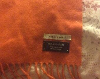 Aubin and Willis 100 percent cashmere scarf