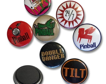 Double Danger Pinball Magnet Mystery 4 Packs!