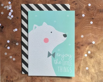 postcard - polar bear