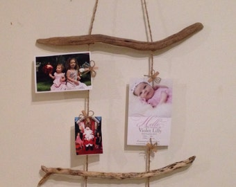 Peg photo frame