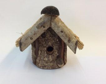 Small Tatched English Birdhouse