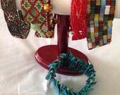 Lot of colorful bracelets- one price-six bracelets- string bracelets