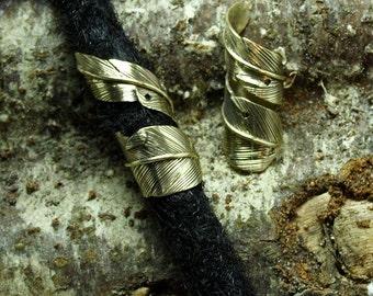 Feather Dreadlock Bead /Jewelry
