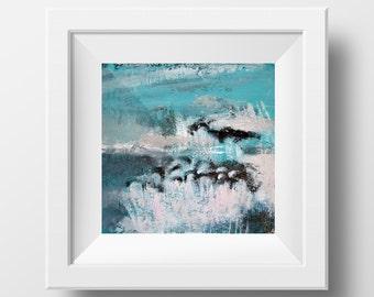 Pelicans, 24 x 24 cm, Instant Download, Art Deco