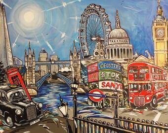 London City Print Montage