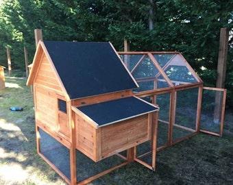 Chicken Coop Kona Island Style for 6 hens