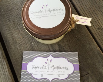 Handpoured Soy Candle - Mason Jar - Scented Candle - Gifts for Mom - 5 oz