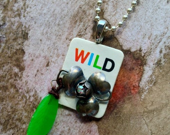 Wild Card Necklace