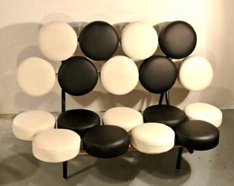 George Nelson Marshmallow Sofa design Herman Miller