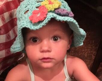 Children's Cotton Sun Hat