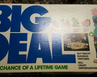 Big Deal Board Game 1977 Vintage
