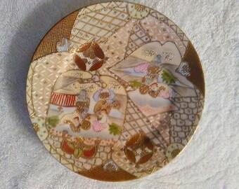 royal Satsuma plate nippon