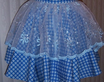In the Blue Hostess Half Apron