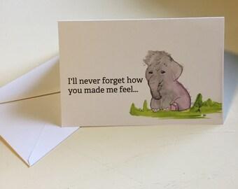 thank you baby elephant