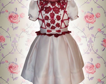 Special Occasion, Holiday, Birthday dress,Flower Girl Lace Dress,Pageants