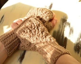 Fingerless mittens, fingerless gloves, hand warmers