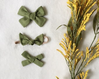 EVERGREEN - Fall Linen Solids | Select Style
