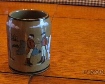 Antique 1908 Buffalo Deldare Pottery Buffalo Pottery Buffalo Deldare