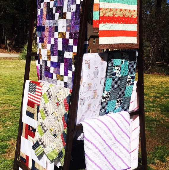 Quilt Patterns For Wedding Gifts : Custom Quilt Wedding Gift House Warming Gift Gift for