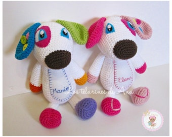Amigurumi puppy - dog crochet