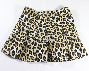 Girl's Leopard Skirt - 3T