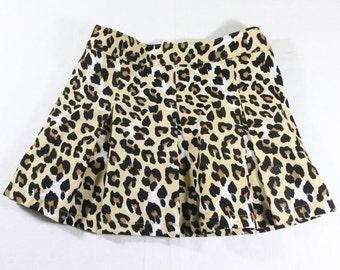 Girl's Leopard Skirt - 3T