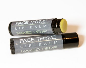 Naked Hemp Natural Lip Balm
