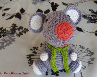 Jean-Charles mouse made crochet