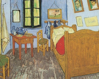 The Bedroom, 1889 - Vincent Van Gogh  ***FREE SHIPPING***