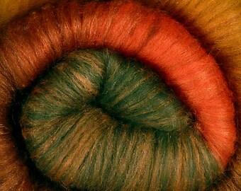 CORNUCOPIA Luxury Batt Bundle - Merino & Silk Spinning Batts 4oz