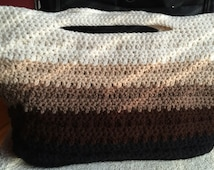 Brown Ombre Tote