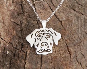 Beagle Necklace, Beagle Dog, Beagle gift, Sterling Silver Necklace, Dog Necklace, Dogs Necklaces, Sterling Beagle