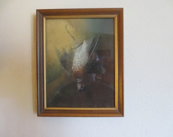 Vintage Bird Painting