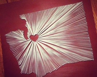 Seattle, WA String Art