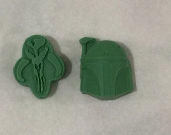 Handmade Boba Fett Soap