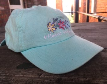 "Light Blue Soft Cotton ""Atlantic Beach NC"" Hat"