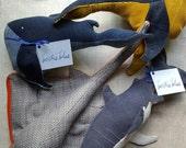 Whale, shark, custom stingray
